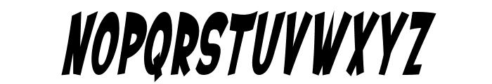 SF Ferretopia Bold Oblique Font UPPERCASE