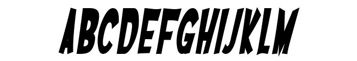 SF Ferretopia Bold Oblique Font LOWERCASE
