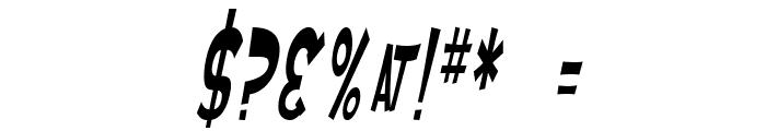 SF Ferretopia Oblique Font OTHER CHARS