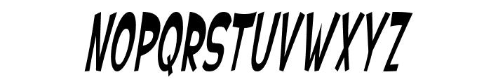 SF Ferretopia Oblique Font UPPERCASE