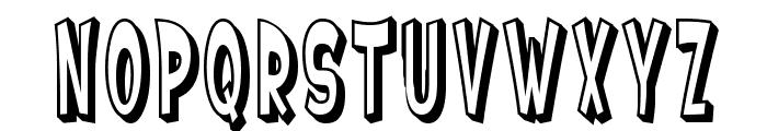 SF Ferretopia Shaded Font LOWERCASE