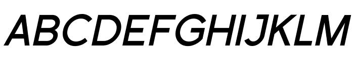 SF Florencesans Bold Italic Font UPPERCASE
