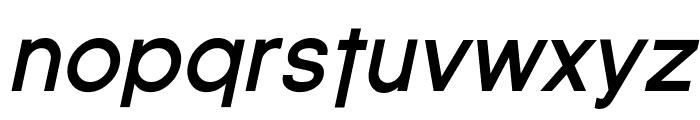 SF Florencesans Bold Italic Font LOWERCASE