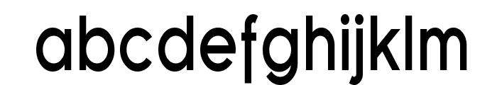 SF Florencesans Cond Bold Font LOWERCASE