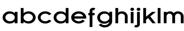 SF Florencesans Exp Bold Font LOWERCASE
