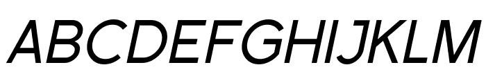 SF Florencesans Italic Font UPPERCASE