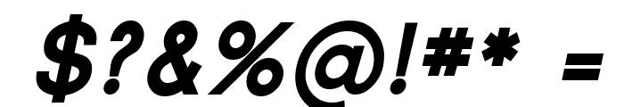 SF Florencesans SC Black Italic Font OTHER CHARS