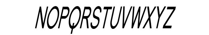 SF Florencesans SC Comp Italic Font UPPERCASE