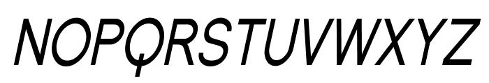 SF Florencesans SC Cond Italic Font LOWERCASE
