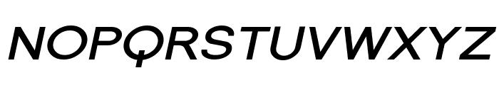 SF Florencesans SC Exp Bold Italic Font UPPERCASE