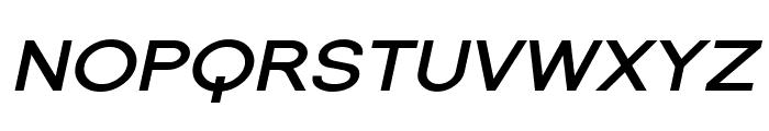 SF Florencesans SC Exp Bold Italic Font LOWERCASE