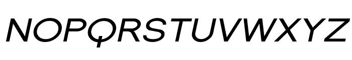 SF Florencesans SC Exp Italic Font LOWERCASE