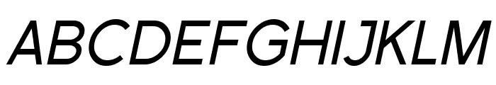 SF Florencesans SC Italic Font UPPERCASE
