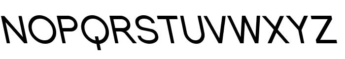 SF Florencesans SC Rev Italic Font UPPERCASE