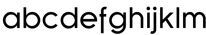 SF Florencesans Font LOWERCASE