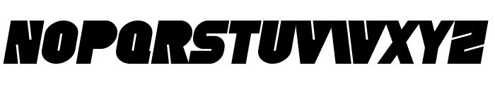 SF Fortune Wheel Bold Italic Font LOWERCASE
