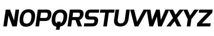 SF Fourche Bold Italic Font UPPERCASE