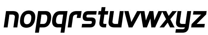 SF Fourche Bold Italic Font LOWERCASE
