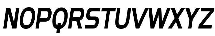 SF Fourche Condensed Italic Font UPPERCASE