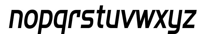SF Fourche Condensed Italic Font LOWERCASE