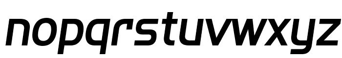SF Fourche Italic Font LOWERCASE