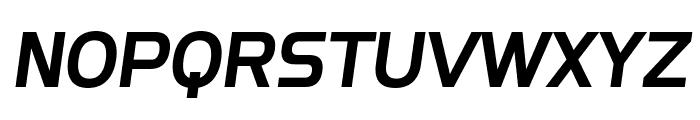 SF Fourche SC Italic Font UPPERCASE
