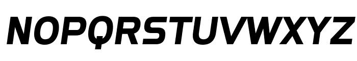 SF Fourche SC Italic Font LOWERCASE