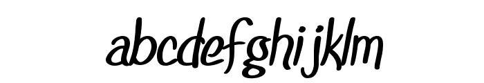 SF Foxboro Script Bold Font LOWERCASE