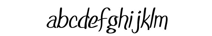 SF Foxboro Script Font LOWERCASE