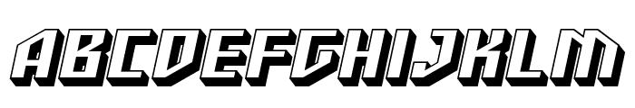 SF Funk Master Oblique Font UPPERCASE