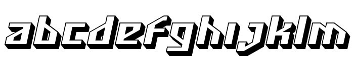 SF Funk Master Oblique Font LOWERCASE