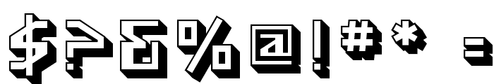 SF Funk Master Font OTHER CHARS