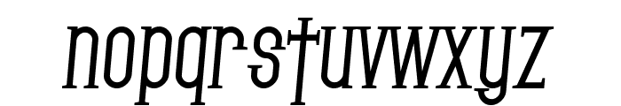 SF Gothican Bold Italic Font LOWERCASE