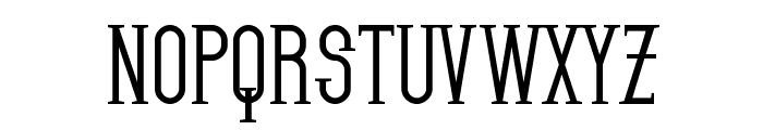 SF Gothican Bold Font UPPERCASE