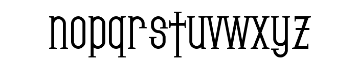 SF Gothican Bold Font LOWERCASE