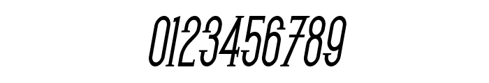 SF Gothican Condensed Bold Oblique Font OTHER CHARS