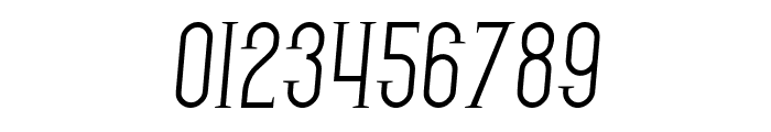 SF Gothican Italic Font OTHER CHARS