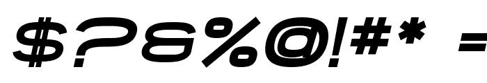 SF Grandezza Heavy Oblique Font OTHER CHARS