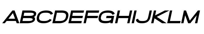 SF Grandezza Heavy Oblique Font UPPERCASE