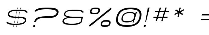SF Grandezza Light Oblique Font OTHER CHARS