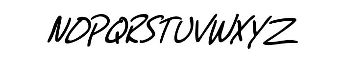 SF Grunge Sans SC Italic Font LOWERCASE