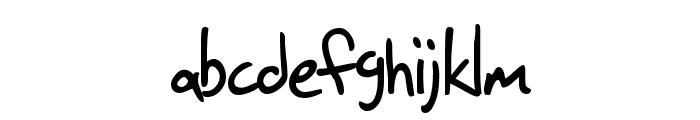 SF Grunge Sans Font LOWERCASE