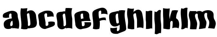 SF Hallucination Font LOWERCASE