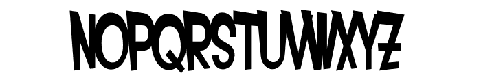 SF Intoxicated Blues Bold Font LOWERCASE