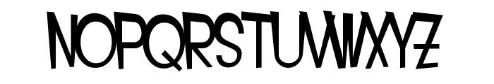 SF Intoxicated Blues Extended Font LOWERCASE