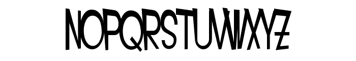 SF Intoxicated Blues Font LOWERCASE