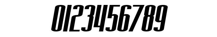 SF Iron Gothic Extended Oblique Font OTHER CHARS