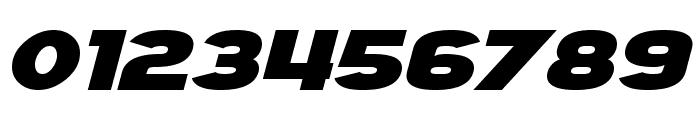 SF Juggernaut Bold Italic Font OTHER CHARS
