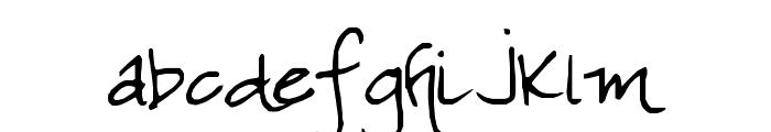 SF-Lea Font LOWERCASE