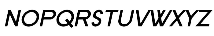 SF New Republic Bold Italic Font UPPERCASE
